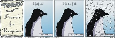 POLE Classic: French for Penguins