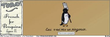 French For Penguins Lesson II.